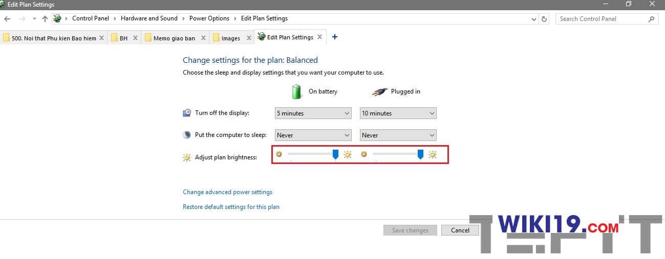 hướng dẫn chỉnh độ sáng màn hình máy tính bàn-001
