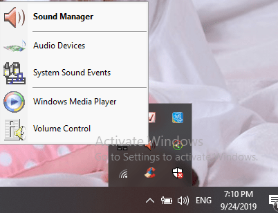 cách mở realtek hd audio manager win 10