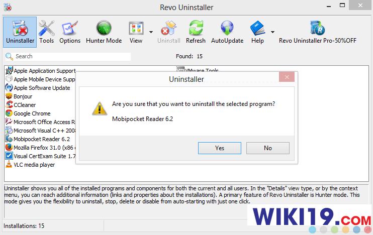 cách gỡ bỏ phần mềm không có trong control panel5