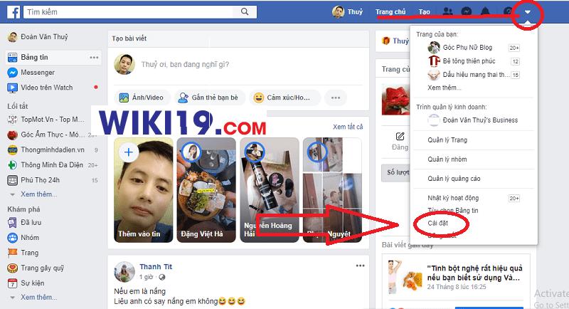 cách làm hiện số người theo dõi trên facebook bằng máy tính