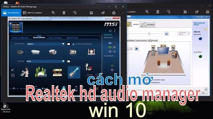 cách mở realtek hd audio manager win 10-6