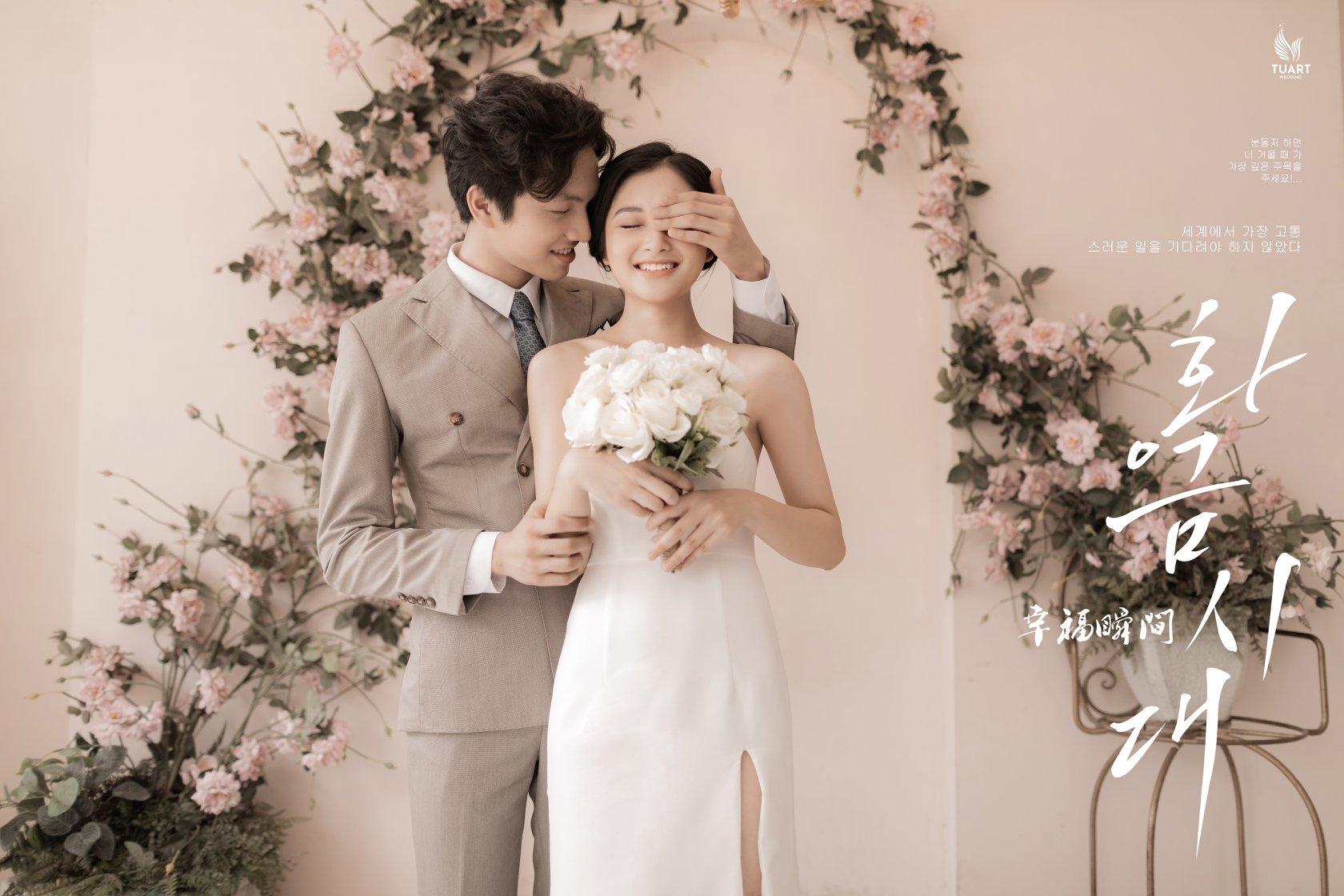 ảnh lễ cưới hàn quốc