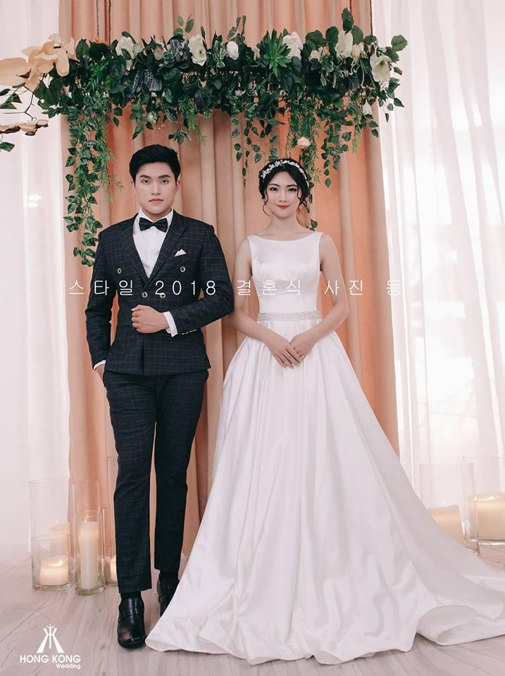 ảnh viện áo cưới hàn quốc