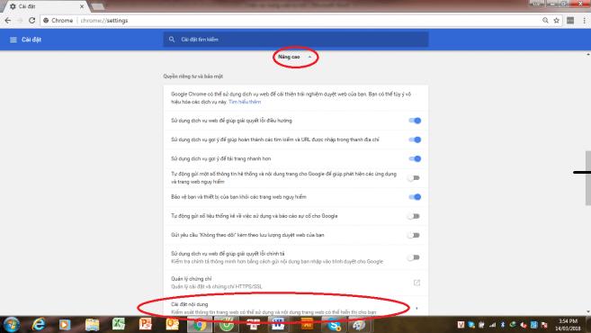 Cách Chặn Trang Web Tự Mở Trên Chrome1