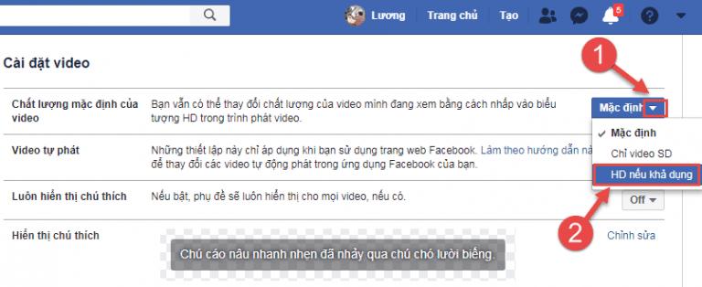 cách đăng video 4k lên facebook3