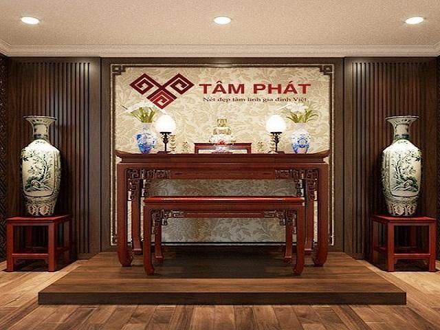 Tủ thờ gỗ chất lượng cao của Tâm Phát
