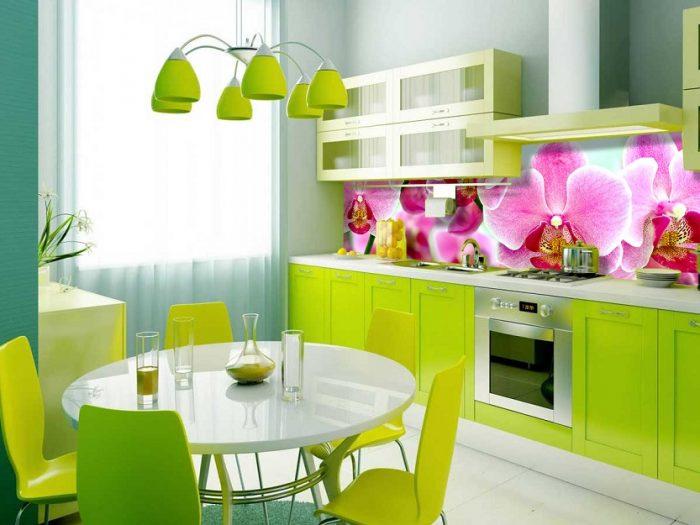 Kính ốp bếp 3D