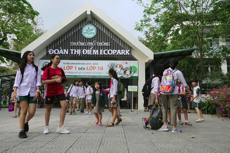 Hệ thống trường học Ecopark được đầu tư đồng bộ