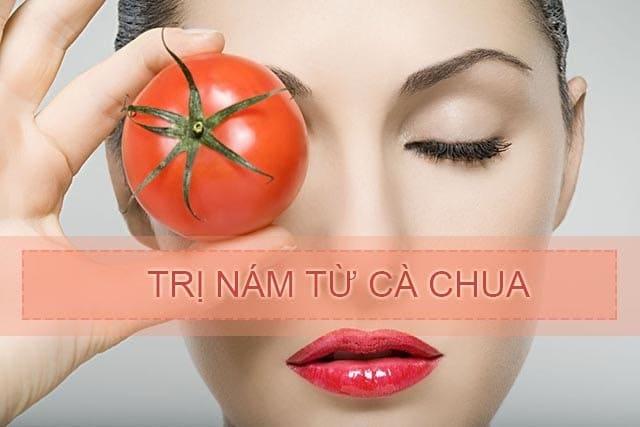 Có thể uống nước ép cà chua để trị nám chân sâu