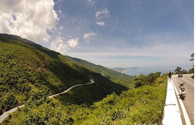 Đèo Hải Vân ở Đà Nẵng