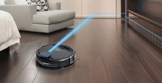 Robot hút bụi Zulihome Ecovacs Deebot DE 53 được thiết kế đẹp mắt, cơ chế lau thông minh và lực hút khỏe