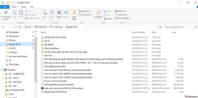 cách mã hóa file