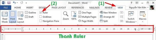 cách tạo dòng kẻ chấm trong bảng word 2010