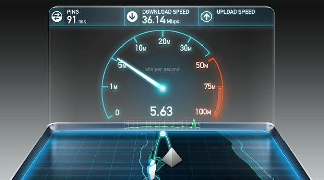 Kiểm tra tốc độ truyền mạng