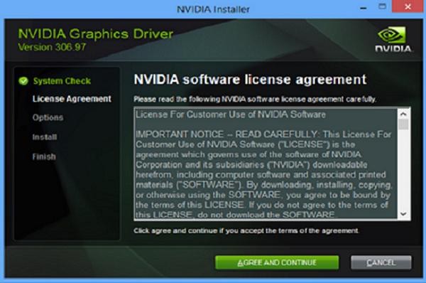 Cài đặt Driver card màn hình rời hãng NVIDIA