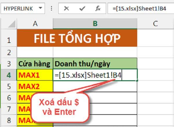 Hướng dẫn cách chuyển dữ liệu từ file Excel này sang file Excel khác