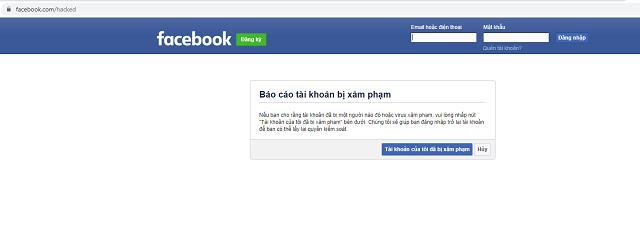 cách lấy lại mật khẩu facebook không cần email 3