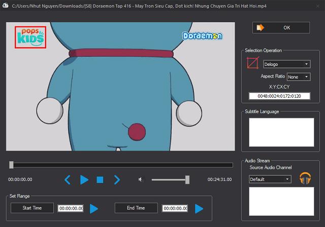 cách xóa logo trong video 1