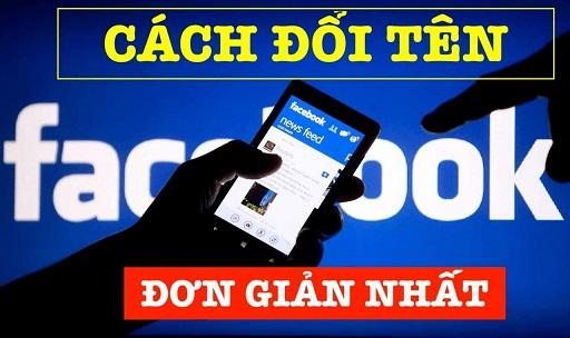 cách đổi tên facebook 1 1