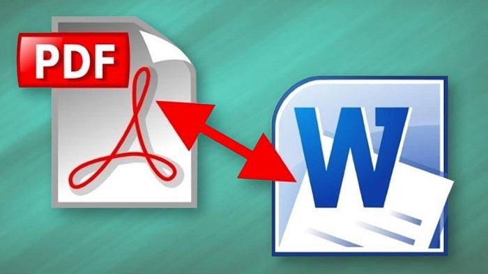 chuyển đổi PDF sang Word 1