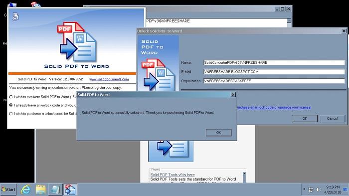 chuyển đổi PDF sang Word 4