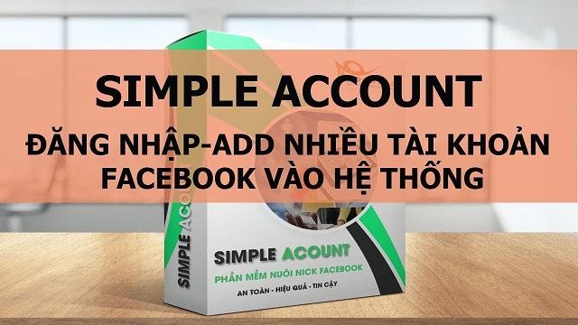 phần mềm nuôi nick facebook