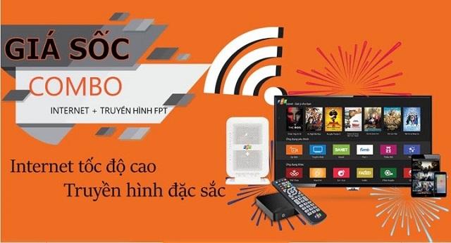 Đường truyền mạng FPT tích hợp nhiều dịch vụ với nhiều tính năng thông minh