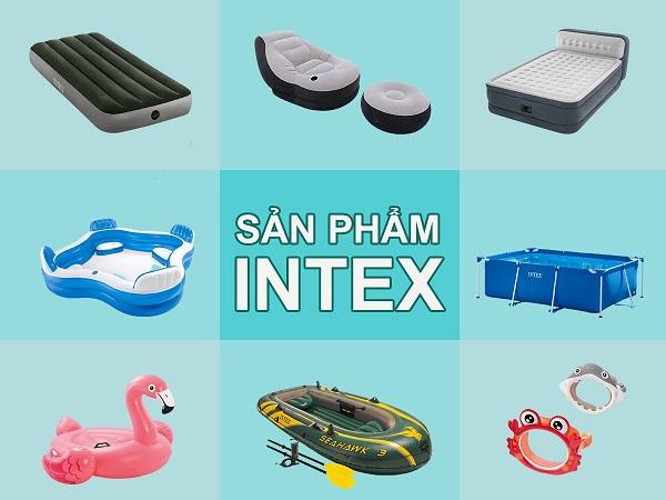 Intex Việt Nam- Đơn vị phân phối sản phẩm bơm hơi chính hãng
