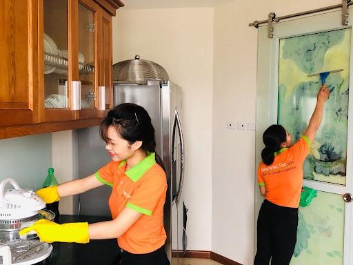 GVT giúp việc nhà theo giờ